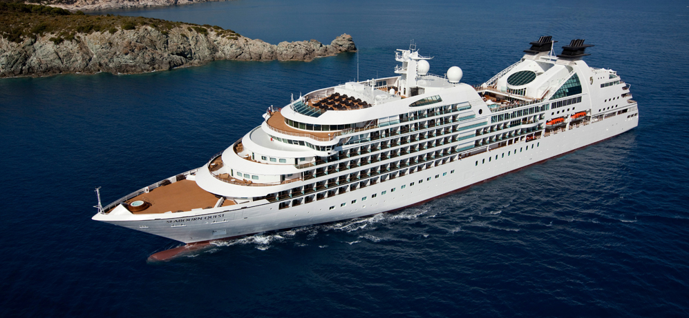 Seabourn new ultra luxury cruise line sail for the first for Top small cruise lines