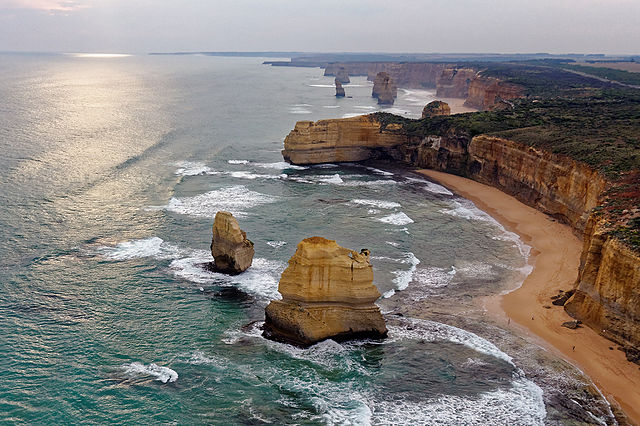 The Twelve Apostles of Victoria Coast