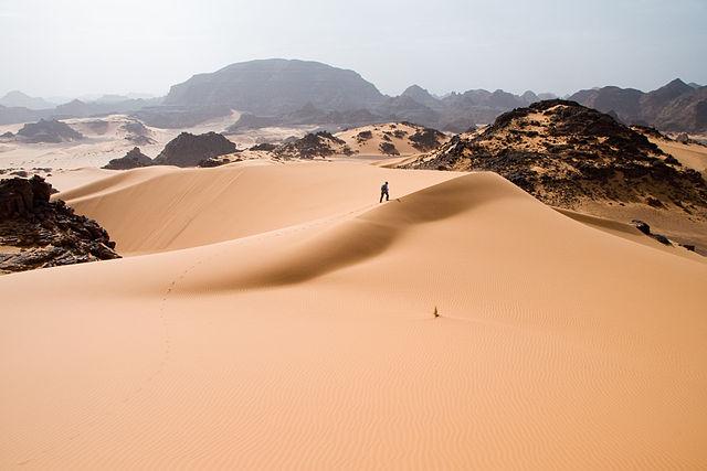 Sahara Make You Feel Insignificant